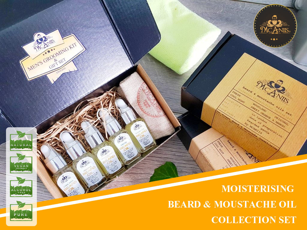McAniis Beard Oil Collection Set 007