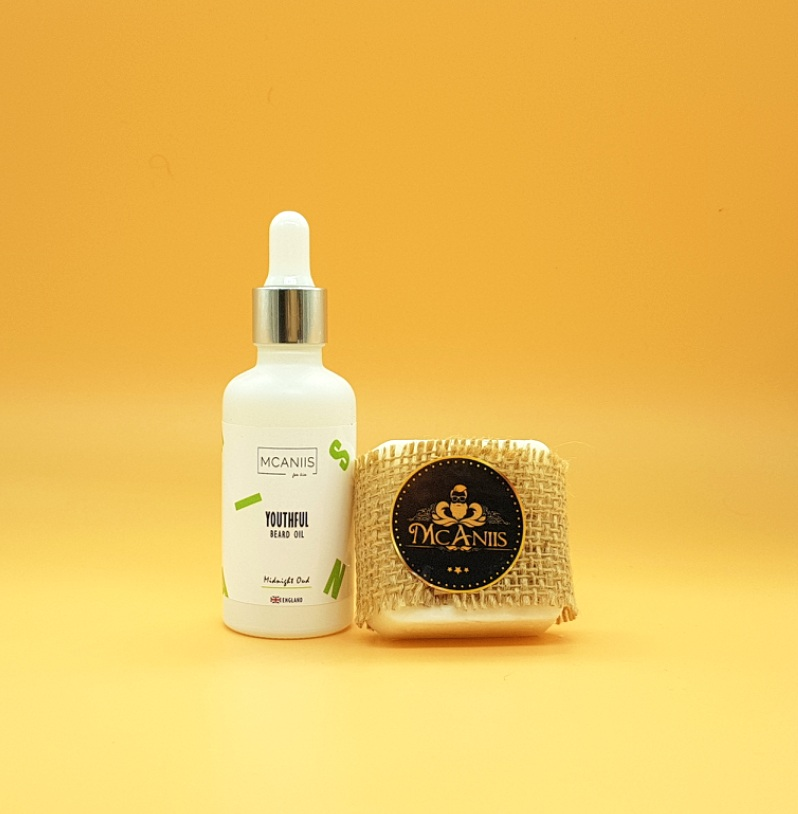 Details about 100% Natural Oud Beard & Mustache Growth Oil + Goat Milk Soap  Grooming/Gift Set
