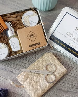 mcaniis beard care travel kit
