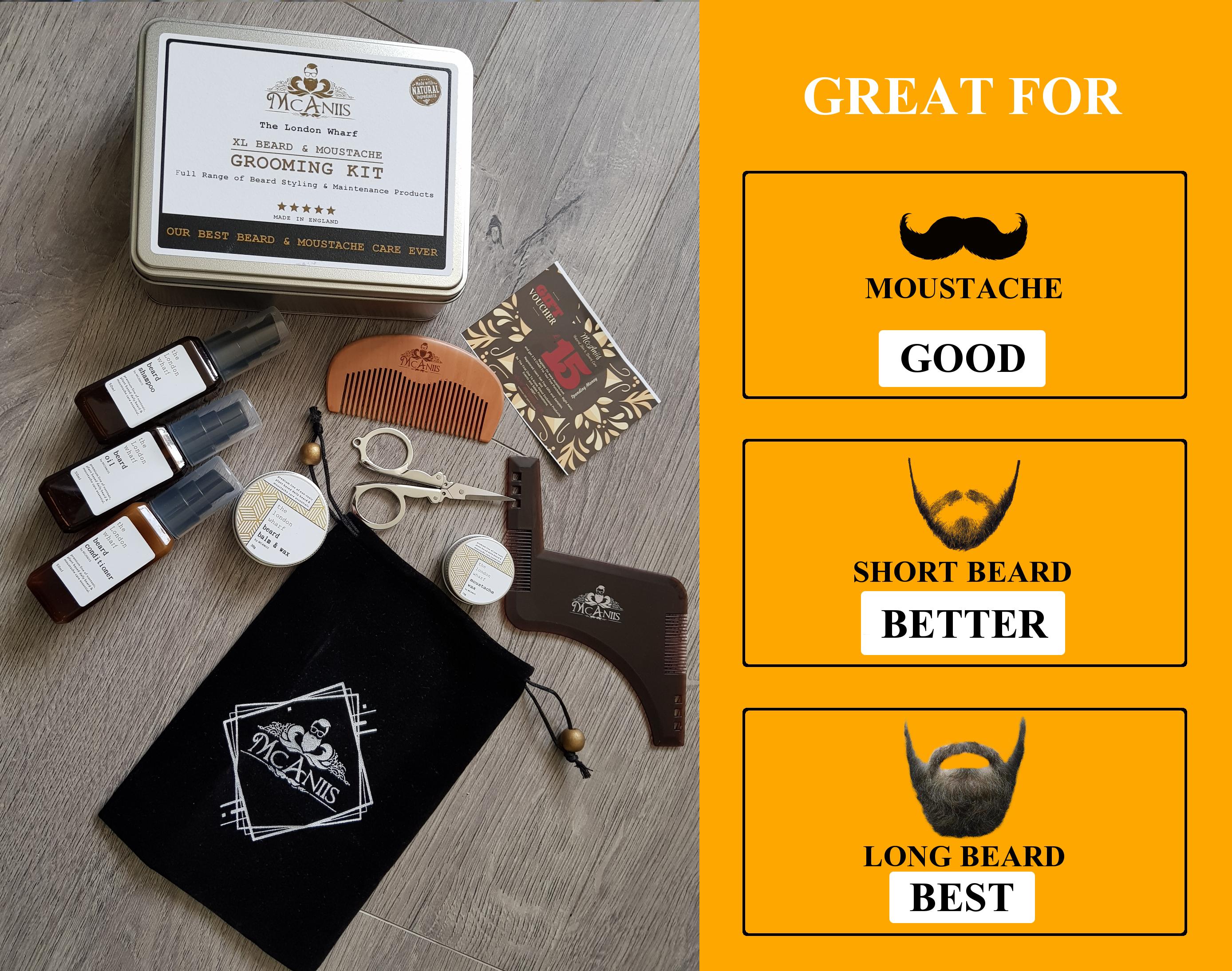 McAniis XL Beard Grooming Kit 002